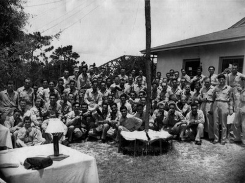 CFPNA: Tyndall Field - 30.07.1945 - The Party.