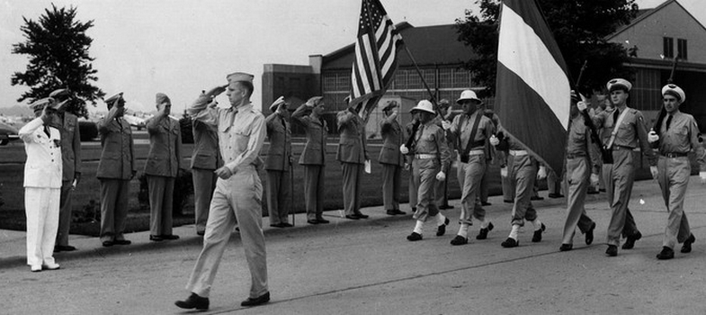 CFPNA: Selfridge Field Parade - Col° S.H.A.A.